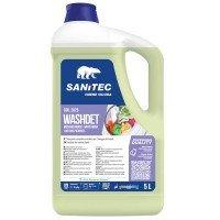 Detersivo liquido Lavatrice Orchidea e Muschio - 5 L - Sanitec