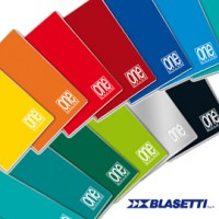 MAXIQUADERNO 210x297mm A4 20fg+1 80gr 5mm ONE COLOR BLASETTI
