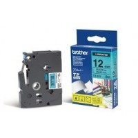 NASTRO BROTHER TZ-E531 12MMx8MT NERO/BLU